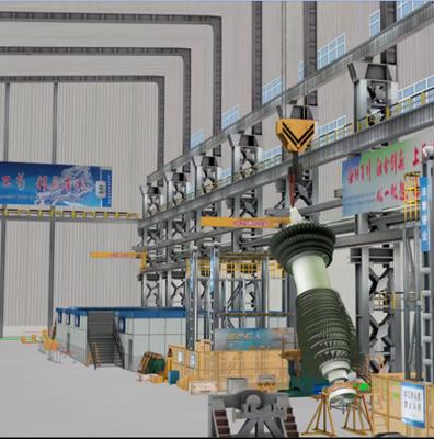 重大件吊装过程规划与仿真系统